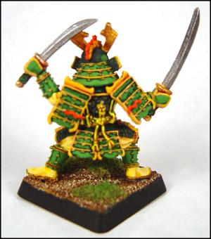 Dragon Clan Samurai (Back)
