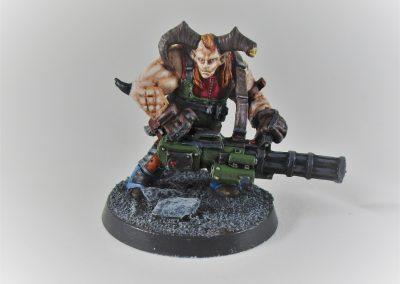 Minotaur with Machine Gun